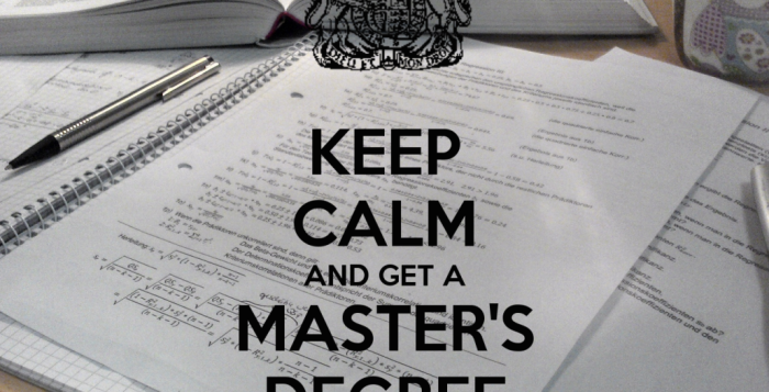 Should you consider pursuing a Masters
